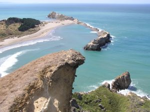 The striking Castlepoint Scenic Reserve