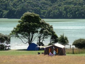 One of our many campsites available to the public.