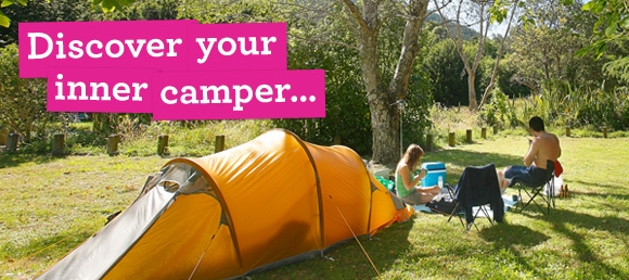 Discover your inner camper this summer.