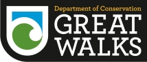 DOC Great Walks logo.
