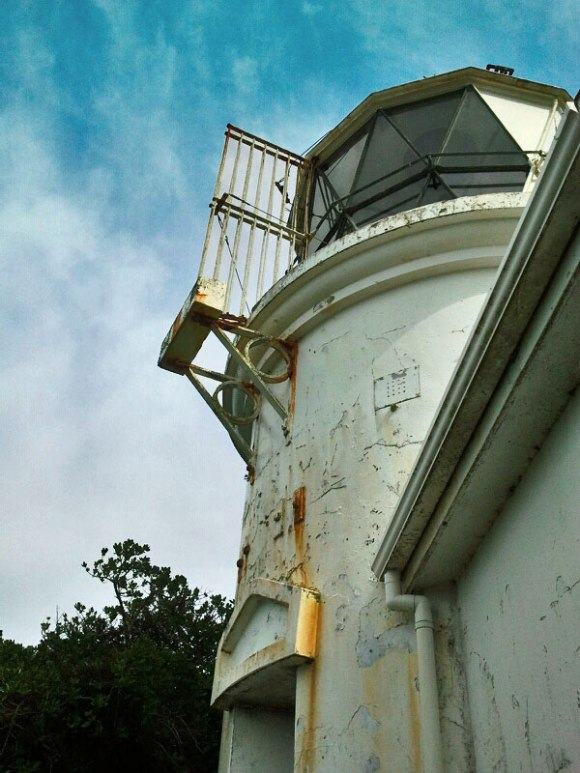 The Matiu/Somes Island lighthouse was the first inner harbour lighthouse in New Zealand