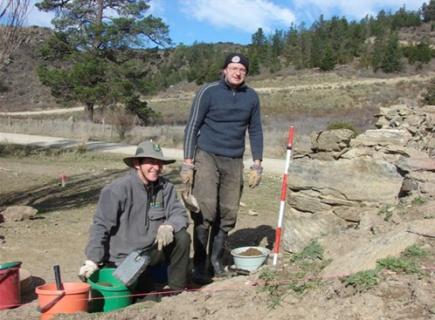 Bendigo Bakehouse excavation with Matt Schmidt, Historic Places Trust.