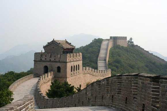 The Great Wall at Badaling (near Beijing).
