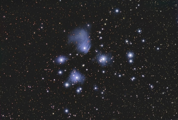 Matariki in the night sky. Image courtesy of pbkwee, flickr.com.