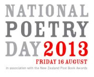National Poetry Day, August 16.