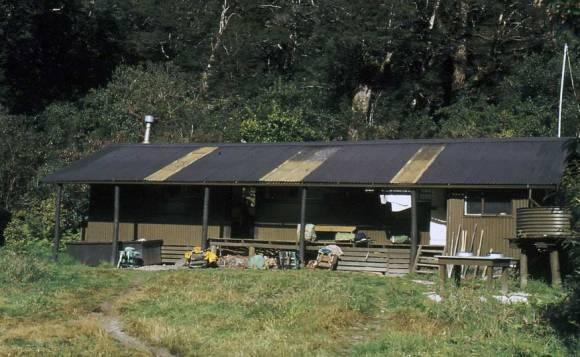 Clinton Forks Hut, the original Freedom Walkers hut.