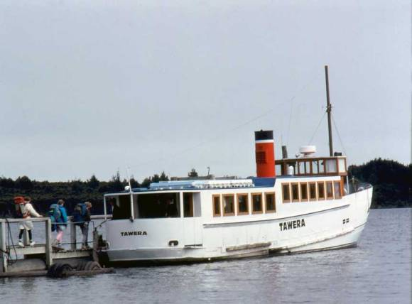 Tawera in its final years.