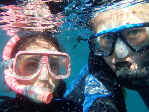 Snorkelling selfie!