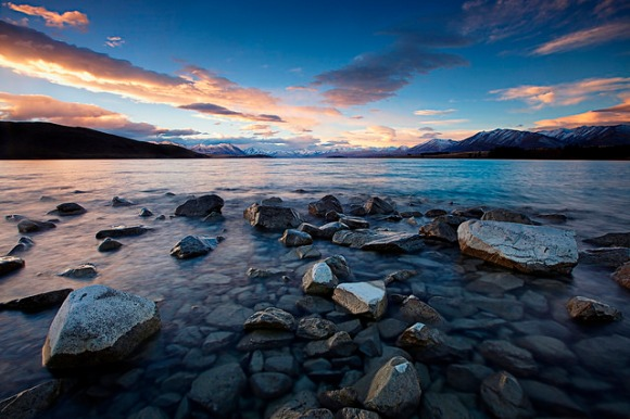 On the shore of Lake Tekapo. Photo: Tim Donnelly | CC BY-NC-ND 2.0.