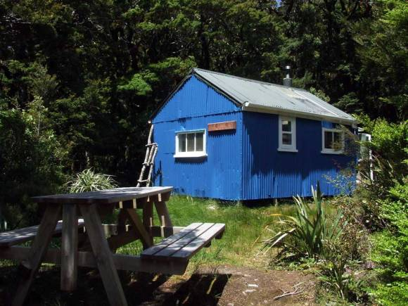 Blue Range Hut. Photo: Don Herron.