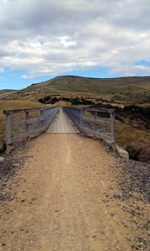 Bridge past Hyde. Photo: Melissa Reid.