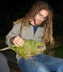 Nick and Sirocco Kakapo.