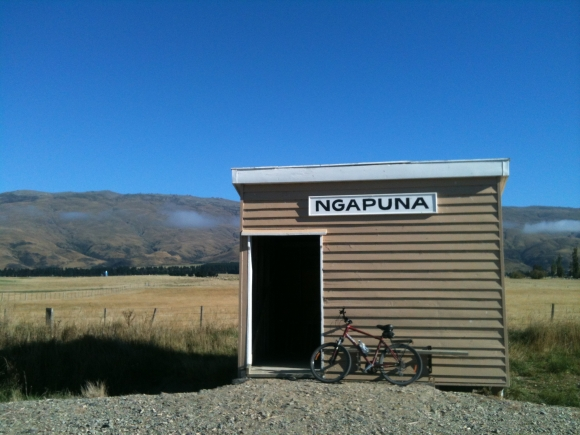 Ngapuna Station near the Rock and Pillar Range. Photo: Richard Langston.