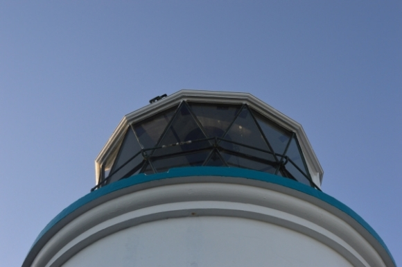 The lighthouse on Matiu/Somes Island.