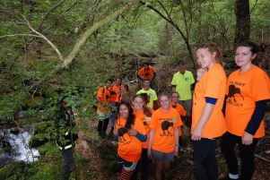 Nina Valley EcoBlitz students. Photo: Sonny Whitelaw | Creative Commons