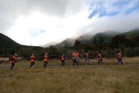 Nina Valley EcoBlitz students. Photo: Sonny Whitelaw | Creative Commons
