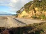 Dunes Trail Tirohanga section in the Saturday sun.