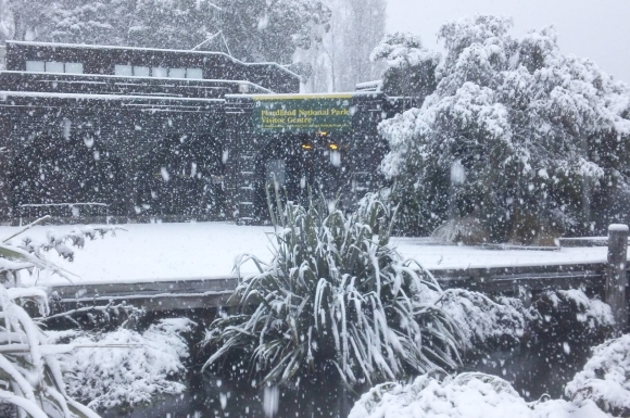 fiordland-visitor-centre-snow