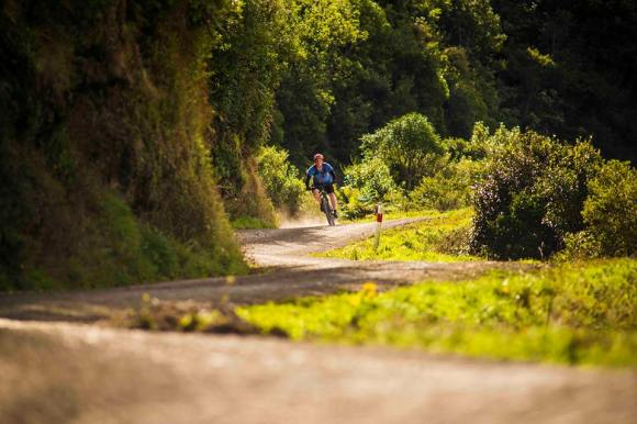 Motu Road Trail. Photo copyright: Motu Trails Cycleway.