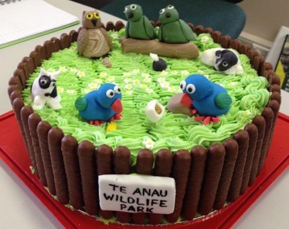 Carol's retirement cake.