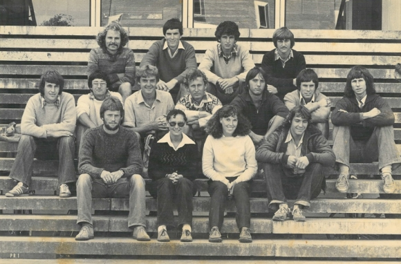 Park Ranger intake class at Lincoln College in 1981.