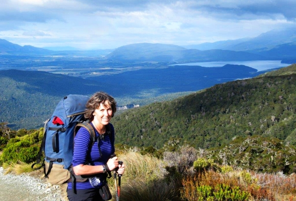 Kay Davies on the Kepler Track.