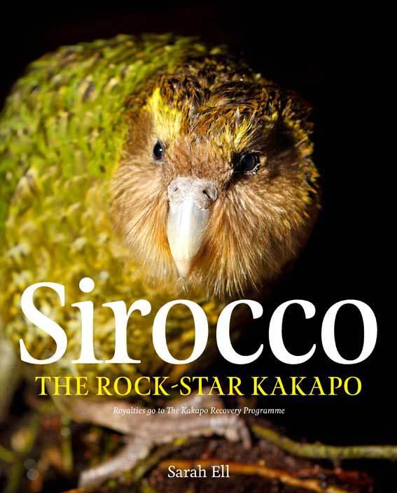 Sirocco the rock-star kakapo book.