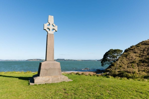 Marsden Cross, Hohi Bay. Photo: Dean Wright.