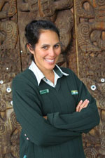 Renee Potae, Biodiversity Ranger based in Tongariro.