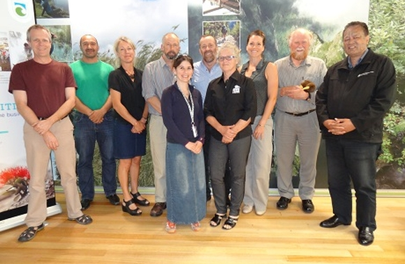 Members of the The Kiwi Recovery Group.