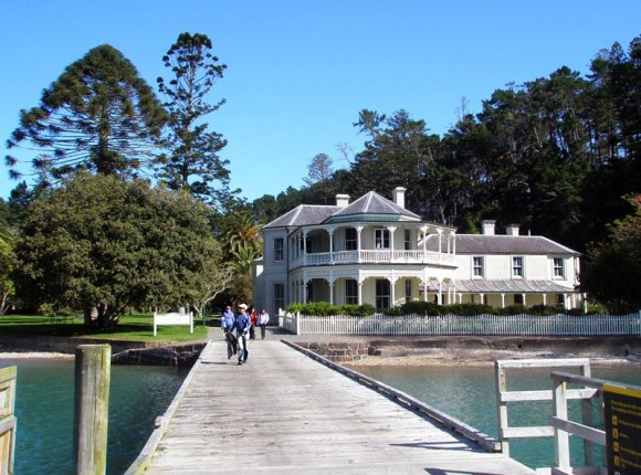 Kawau Island Historic Reserve, home to the iconic Mansion House.