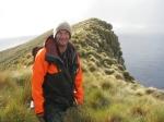 DOC's Mitch Bartlett on Bollons Island.