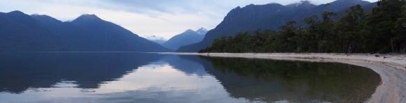 Lake Poteriteri.