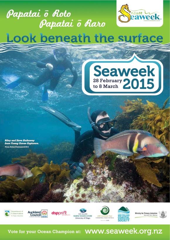 Seaweek 2015 poster