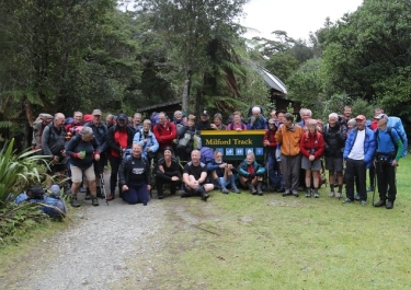 Freedom Walkers at Sandfly Point in 2015.