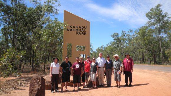 DOC delegation to Kakadu National Park.