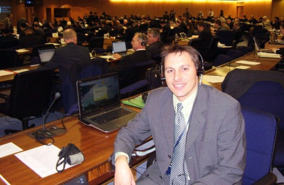 Advocating for ship quietening technologies at the International Maritime Organisation.