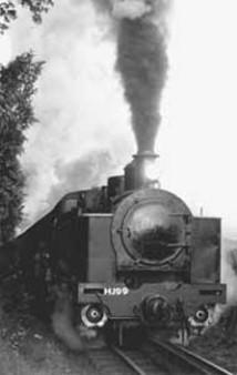 A Fell engine on the Rimutaka Incline. Photo: DOC