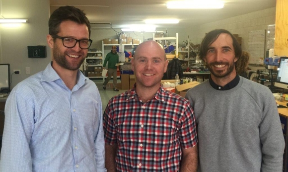 Craig Bond, Robert Reid and Stu Barr of Goodnature.