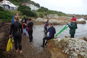 Taputeranga snorkel trail opening 2011.