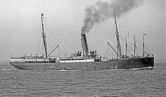 SS Wairarapa. Photo: W-M | The Green Collection| State of Victoria Library.