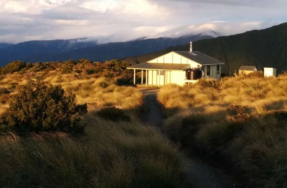 Rangiwahia Hut. Photo: Peter Daly | CC BY 3.0 NZ