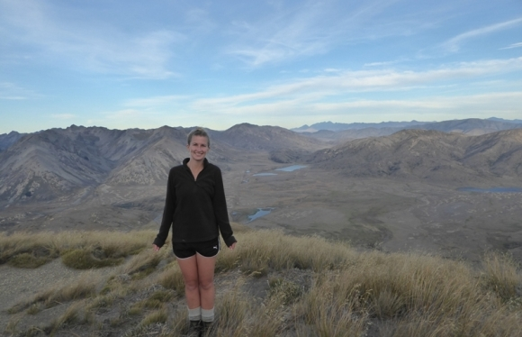 Sam Sutherland at Molesworth Station.