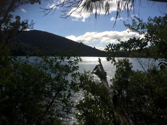 Lake Rotopounamu.