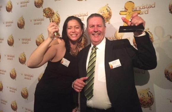 Auckland partnerships director Meg Poutasi and operations director Andrew Baucke accepted the award for DOC.