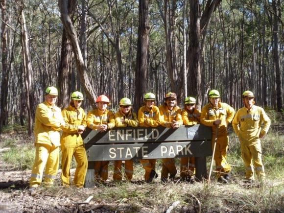 Australian Fire Deployment.