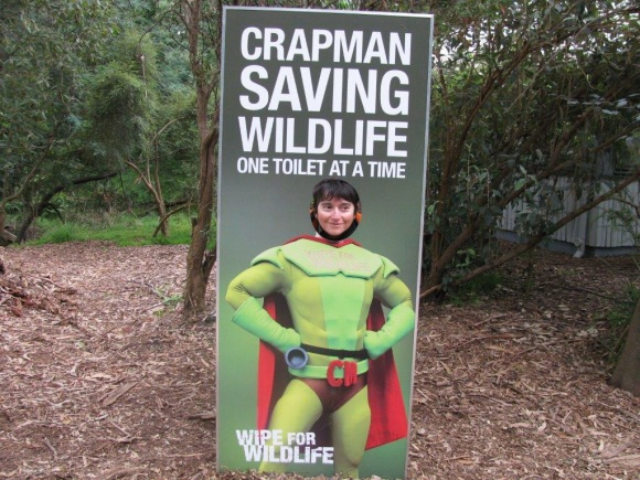 Melbourne 'wipe for wildlife' initiative.