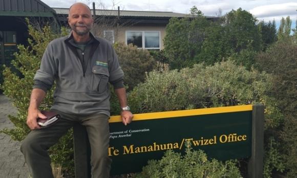 Peter Willemse, Senior Ranger in Twizel.