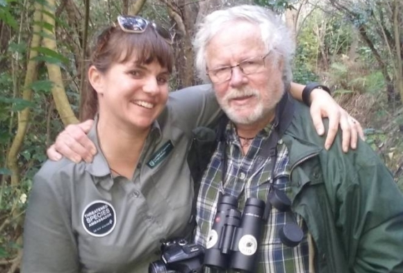 Nicola Toki and Bill Oddie.