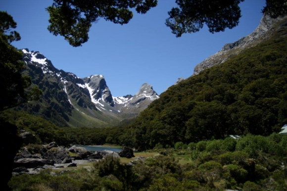 Lake Mackenzie on the Routeburn Track. Photo: Preben Arentoft.